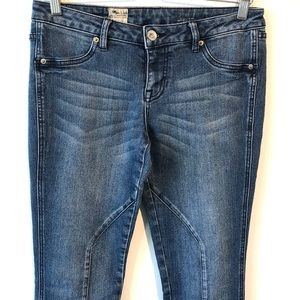 Volcom | blue faded wash skinny jeans